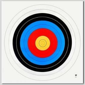 Trad Gear Accessories Achery Paper Target Face 40 cm 16
