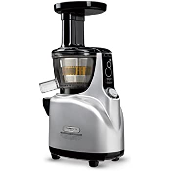 Amazon.com: Kuvings NS-850 Silent Upright Masticating Juicer, Silver: Electric Masticating ...