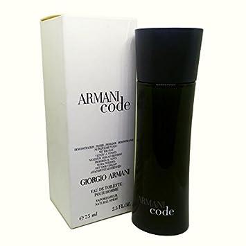 2130d42ed94b Amazon.com   Giorgio Armani Code For Men Eau de Toilette 2.5oz 75ml In Tes  ter Box   Beauty