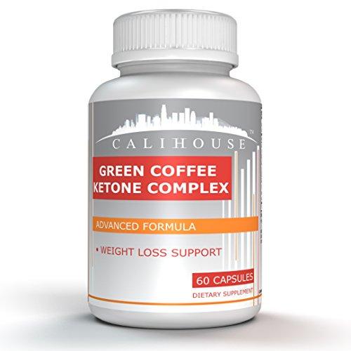 Calihouse 4-in-1 Green Coffee, Raspberry Ketone, Garcinia Cambogia and Green Tea Weight Loss