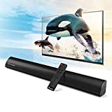 2.1 Channel Bluetooth Wohome TV Soundbar with Built-in Subwoofer Deal (Small Image)
