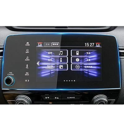 HeyMoly Compatible with Honda CRV 2020-2020 EX EX-L Touring 7 Inch Car Navigation Screen Protector, 9H Hardness Scratch-Resistant Ultra HD in-Dash Clear Tempered Glass Screen: GPS & Navigation