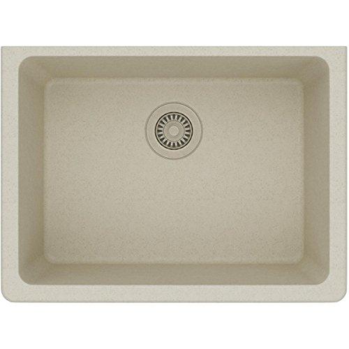 Elkay ELGU2522BQ0 Gourmet Quartz Classic Undermount Sink, Bisque