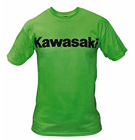 Kawasaki Logo Short Sleeve T-Shirt Green X-Large XLG XL