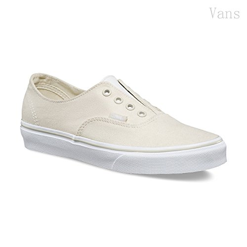 Vans AUTHENTIC GORE Leather/Canvas Bone White Sneakers (6.0 Men - 7.5 Women) g87psqQd
