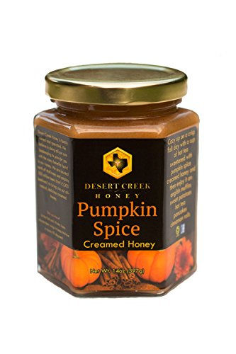 - Desert Creek Honey Pumpkin Spice Creamed Honey
