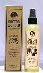 Doctor Wonder Tingling Braid Spray 6 FL OZ