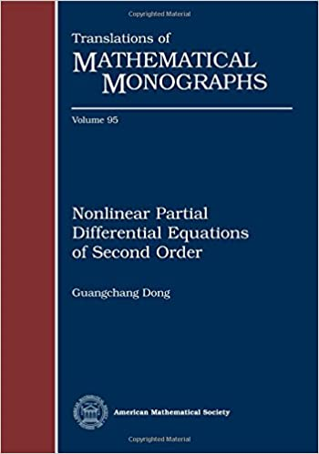 Nonlinear Partial Differential Equations of Second Order