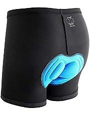 Sportneer Fietsbroek voor heren, met 3D-bekleding, zweetafstotend