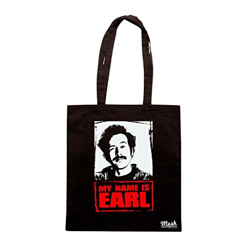 Borsa My Name Is Earl - Nera - Film by Mush Dress Your Style