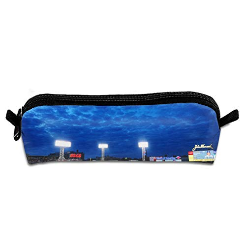 KutLong Fenway Park Baseball Park Student Pencil Pen Case Zipper Pouch Small Cosmetic Makeup Bag Coin Purse?for Kids Teens and Other School Supplies