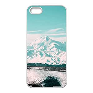 Iphone 5/5S Case beautiful snowy mountain White tcj521006 tomchasejerry