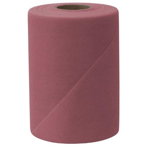 [해외]Falk Fabrics Tulle Spool 6-Inch by 100-Yard Dusty Rose / Falk Fabrics Tulle Spool, 6-Inch by 100-Yard, Dusty Rose