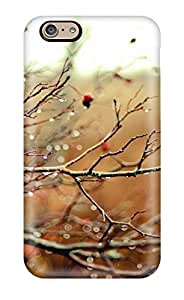 Hot Design Premium BrQSHDv12970JEbJE Tpu Case Cover Iphone 6 Protection Case(rain On Rosehip Branches Rose Hip Branch Water Drops Bokeh Depth Field Fall Nature Autumn)