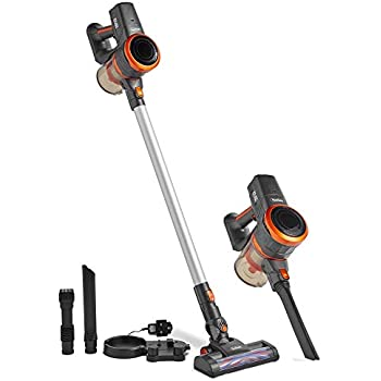 vonhaus cordless 2 in 1 stick handheld vacuum cleaner with powerful suction and. Black Bedroom Furniture Sets. Home Design Ideas
