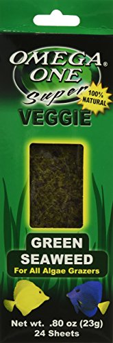 Omega One Super Veggie Green Seaweed, .8 oz., 24 sheets