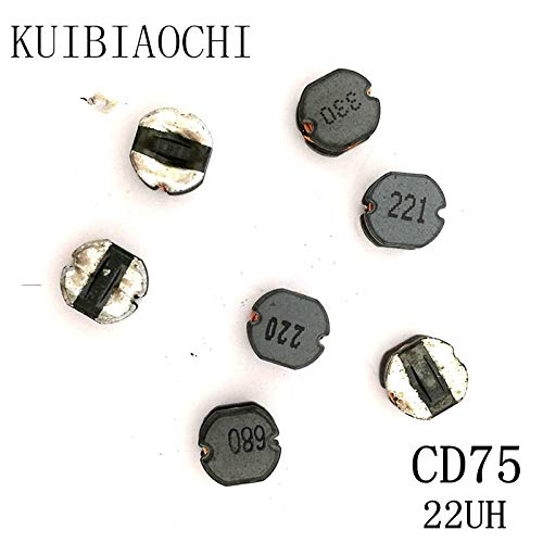 Maslin 20pcs//LOT SMD Power Inductor CD75 22UH 220 7.87.05.0mm Unshielded Winding Inductor