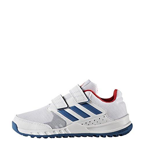 Chaussures junior adidas FortaGym Weiß