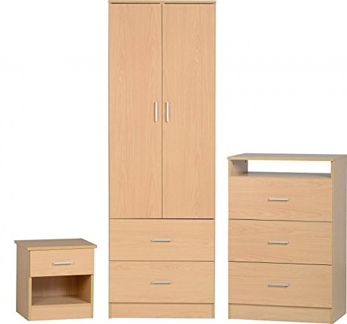 OSFO Beech Bedroom Furniture Set