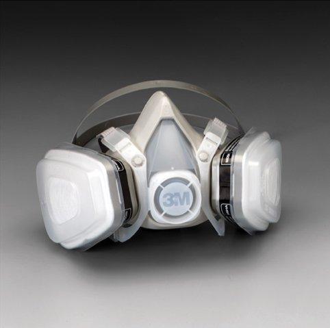 3M™ Dual Cartridge Respirator Assembly , ()