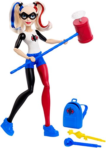 DC Super Hero Girls Harley Quinn Action Doll, 12