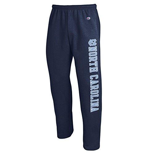 Elite Fan Shop North Carolina Tar Heels Sweatpants Pockets Navy - L