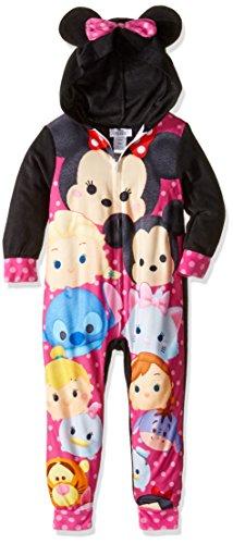 Disney Girls Tsum Tsum Minnie Mouse Hooded Blanket Sleeper