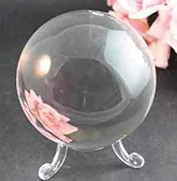 Glaskugel Kristallkugel Wahrsager Zauberei 80 mm Edel