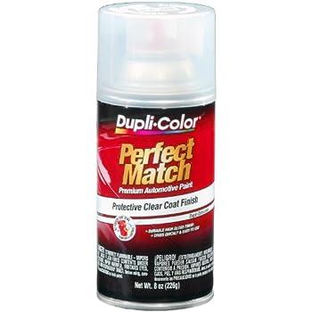 Dupli-Color BCL0125 Clear Perfect Match Automotive Top Coat - 8 oz. Aerosol