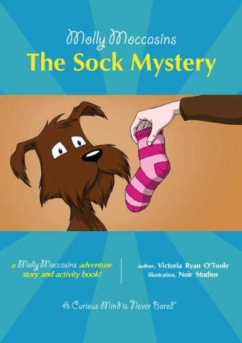Molly Moccasins -- The Sock Mystery (Molly Moccasins Adventure Story and Activity Books)