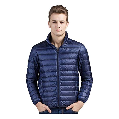 Comfortable Coat Soft Clothing HX Sizes Jacket Mantel fashion Insulated Men's Outerwear Down Warm Ultralight Packable Buffer Marine 88wZvEq