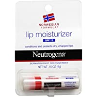 Neutrogena Norwegian Formula Lip Moisturizer With Sunscreen, Spf 15,.15 Oz. (Pack of 2)