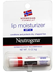Neutrogena Lip Moisturizer SPF 15 0.15 oz (Pack of 5)