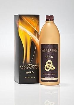 Cocochoco ORO Brazilian blow dry Alaciado DE CABELLO TRATAMIENTO DE KERATINA 1000ml