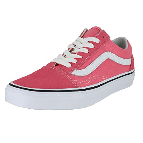 Vans Unisex Old Skool¿ Strawberry Pink/True White 8.5 Women / 7 Men M US (Vans Woman Neon)