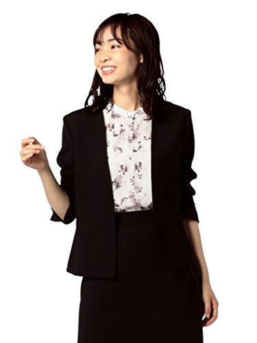 磨かれた反逆写真(ノーリーズ ソフィー) NOLLEY'S sophi 麻調ツイルVネックジャケット[MINE掲載] 8-0030-3-05-001