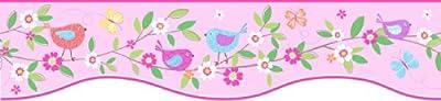 Fun4Walls BO50054 Bird Houses Peel and Stick Border