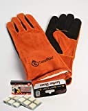 CampMaid Heat Safe Leather Gloves