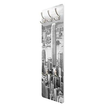 Perchero de Pared – Skyline Nostalgia 139 x 46 x 2 cm, COATRACK, Perchero de Pared, Perchero, Perchero de Pared, Perchero, Perchero de pie