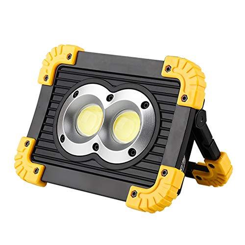 Lampe Led Proyector portátil Luz de trabajo LED Batería recargable ...