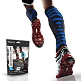 PowerLix Calf Compression Sleeve (Pair) - Supreme Shin Splint Sleeves for Men & Women - Perfect for Your Calves for Running, Ultimate Support for Leg Pain Relief and Recovery - 20-30 mmHg