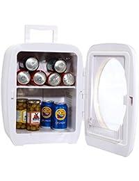 Smad Compact Mini Cooler Portable Refrigerator for Car Dorm Travel, 0.53 cu.ft.(15L)
