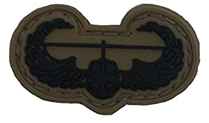 Subdued Us Army Air Assault Pvc Badge