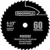 Rockwell RW9282 4 1/2-Inch 60T High Speed Steel Compact Circular...