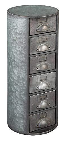 Hekman Furniture 27695 Round Metal Chest (Furniture Hekman)