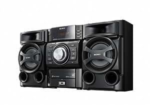 Sony MHC-EC69 - Microcadena (espacio para 3 CD, reproductor de MP3, radio FM y AM, USB), negro
