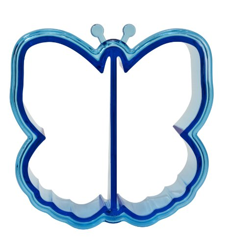 Evriholder-Butterfly-Bytes-Sandwich-Crust-Cutters-2-Pack-Red-and-Blue