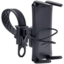 Arkon Smartphone and Midsize Tablet Bike Motorcycle Strap Mount for iPhone 5 5S Galaxy S5 S4 Note 3