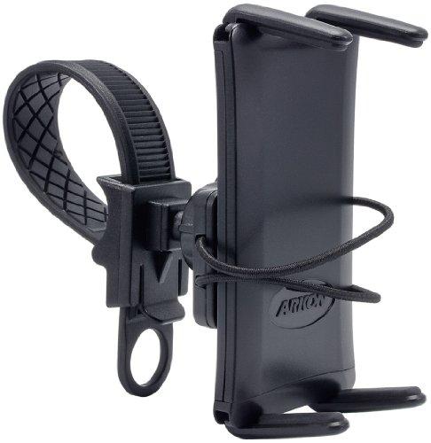 Arkon Bike Handlebar Phone Strap Mount for iPhone XS Max XS XR X 8 Galaxy Note 9 8 Galaxy S10 S9 Retail Black