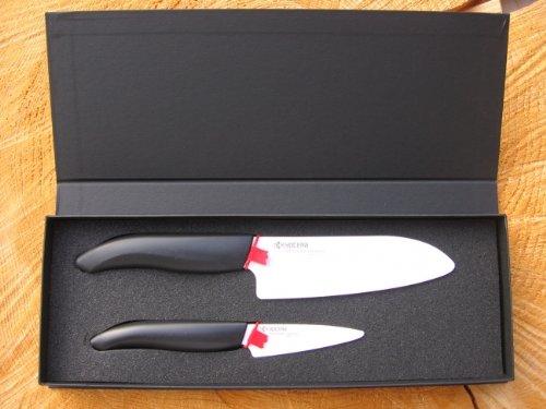 Geschenkbox incl. 2 Kyocera Keramikmesser Keramik Messer
